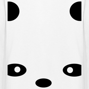 abstract Panda Long Sleeve Shirts - Kids' Premium Longsleeve Shirt