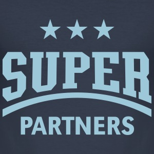Super Partners T-Shirts - Men's Slim Fit T-Shirt