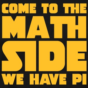 Come To The Math Side T-shirts - Herre premium T-shirt