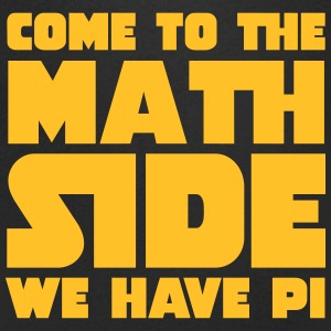 Come To The Math Side Magliette - Maglietta da uomo con scollo a V