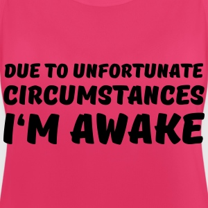Due to unfortunate circumstances I'm awake Sports wear - Women's Breathable Tank Top