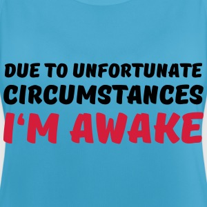 Due to unfortunate circumstances I'm awake Sportkleding - Vrouwen tanktop ademend