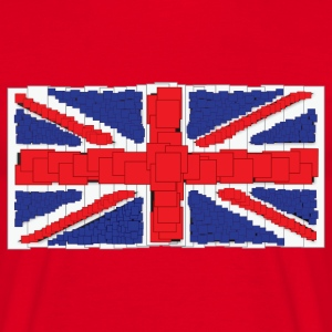 Anime Style Union Jack T-Shirt - Men's T-Shirt