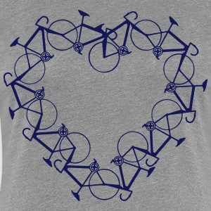 In love with bicycles T-Shirts - Women's Premium T-Shirt