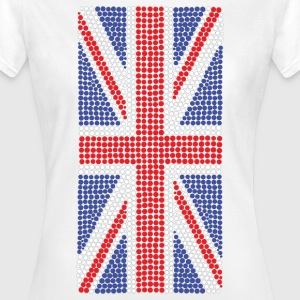 Super Dots Union Jack T-Shirt - Women's T-Shirt