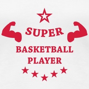 Basketball - Basket Ball - Game - Sport - Player Tee shirts - T-shirt Premium Femme
