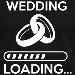 wedding loading - Stag do - hen party Tee shirts - T-shirt Premium Homme