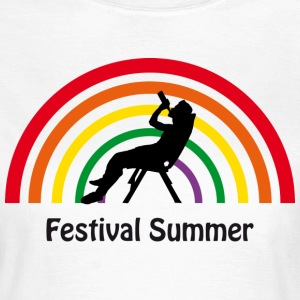Festival Summer Rainbow SHIRT WOMAN - Frauen T-Shirt