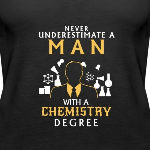 NEVER UNDERESTIMATE A CHEMIST! Tops - Women's Premium Tank Top
