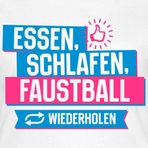 Hobby Faustball T-Shirts - Frauen T-Shirt