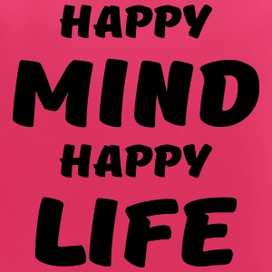 Happy mind, happy life Sportbekleidung - Frauen Tank Top atmungsaktiv