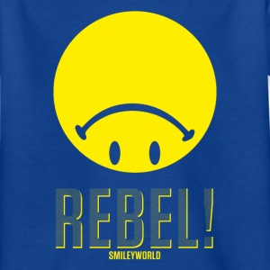 SmileyWorld Rebel Upside Down Smiley - Kids' T-Shirt