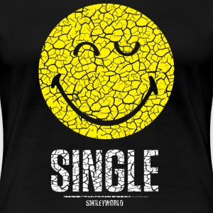 SmileyWorld Single Zwinkernder Solo Smiley - Frauen Premium T-Shirt