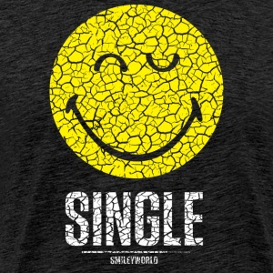 SmileyWorld Single Smiley - Men's Premium T-Shirt
