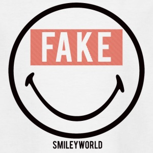 SmileyWorld Fake Smile - Teenage T-shirt