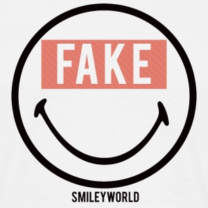 SmileyWorld Fake Smile - Männer T-Shirt