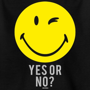 SmileyWorld Yes or No? Smiley - T-shirt tonåring