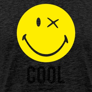 SmileyWorld Cool Smiley - Herre premium T-shirt