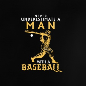 NEVER UNDERESTIMATE A MAN WITH NEM BASEBALL CLUB! Baby Shirts  - Baby T-Shirt
