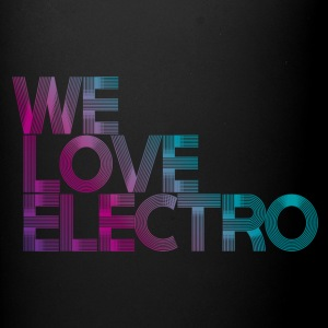 we love electro MUG - Mok uni