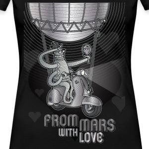 from mars with love - T-shirt Premium Femme
