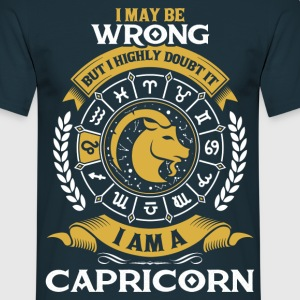 .....I Am A Capricorn T-Shirts - Men's T-Shirt