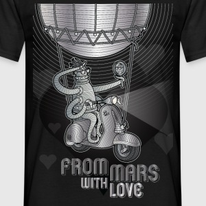 from mars with love - T-shirt Homme