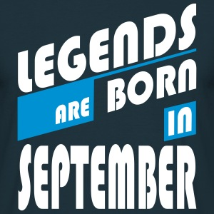 Legends of September T-Shirts - Camiseta hombre