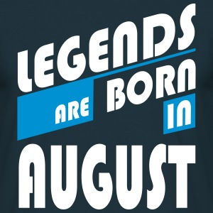 Legends of August T-Shirts - Mannen T-shirt
