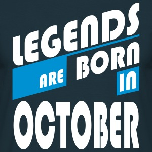 Legends October T-Shirts - Herre-T-shirt