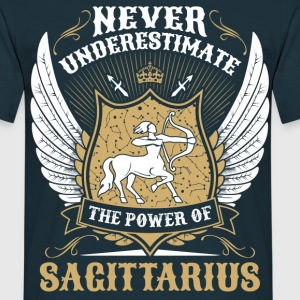 Never Underestimate The Power Of Sagittarius T-Shirts - Men's T-Shirt