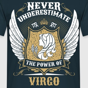 Never Underestimate The Power Of Virgo T-Shirts - Men's T-Shirt