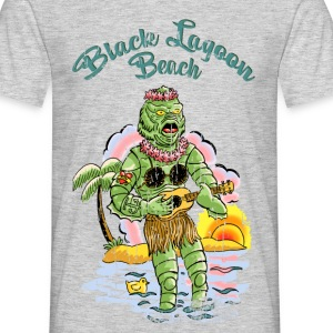 Black lagoon beach - T-shirt Homme