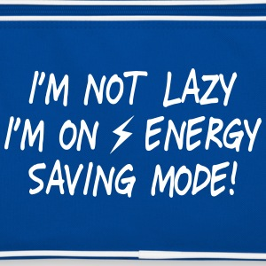 I'm  not lazy, I'm on energy saving mode II Bags & Backpacks - Retro Bag