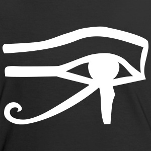 Auge des Re T-Shirts - Frauen Kontrast-T-Shirt