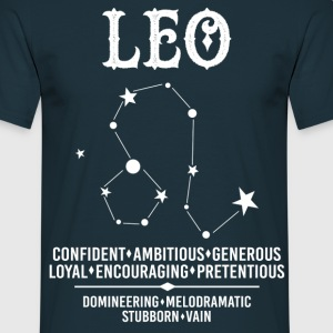 Leo Zodiac Sign T-Shirts - Men's T-Shirt