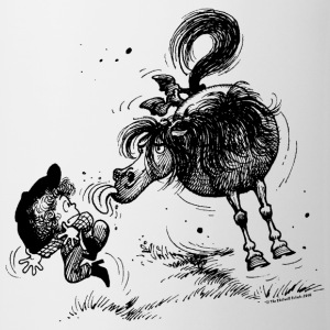 Thelwell 'Pony sticks out his tounge. Tassen & Zubehör - Tasse