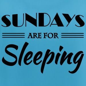 Sundays are for sleeping Abbigliamento sportivo - Top da donna traspirante