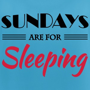 Sundays are for sleeping Ropa deportiva - Camiseta de tirantes transpirable mujer