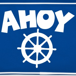 Ahoy Wheel Segel Design Bags & Backpacks - Retro Bag