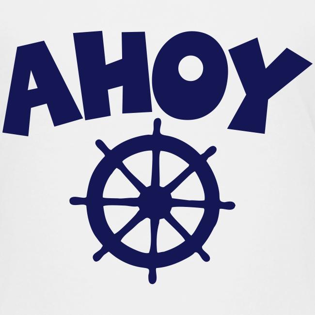 AHOY Wheel Teenager T-Shirt