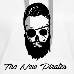 The New Pirates - Sweat-shirt à capuche Premium pour femmes