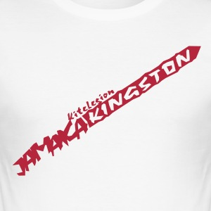 jamaica_kingston_vec_1nl T-shirts - Männer Slim Fit T-Shirt