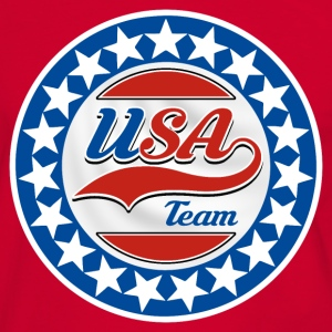 USA Team 05 Tee shirts - T-shirt contraste Homme