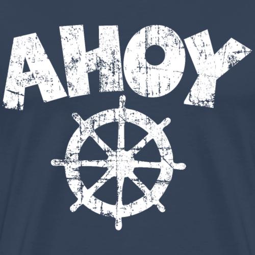 Ahoy Wheel Segel Design (Weiß)