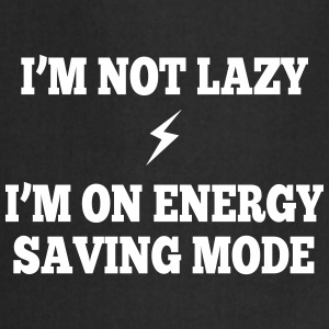 I'm  not lazy, I'm on energy saving mode Delantales - Delantal de cocina