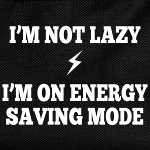 I'm  not lazy, I'm on energy saving mode Bags & Backpacks - Kids' Backpack