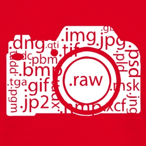 i shoot raw T-Shirts - Männer T-Shirt