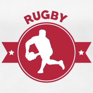Rugby - Rugbyman - Sport - Fighter - Fight T-Shirts - Women's Premium T-Shirt