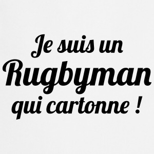 Rugby - Rugbyman - Sport - Fighter - Fight Tabliers - Tablier de cuisine
